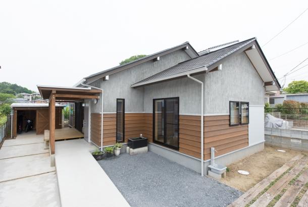 茨城県石岡市スロープのある住まい